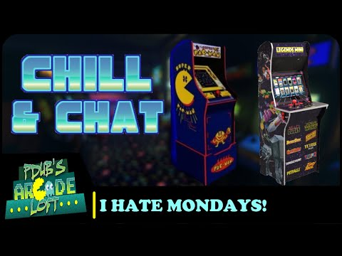 Arcade1Up & AtGames Rumored Cabinets? Chill and Chat! from PDubs Arcade Loft