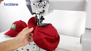 Techsew 830-R Industrial Sewing Machine - Sewing Patches