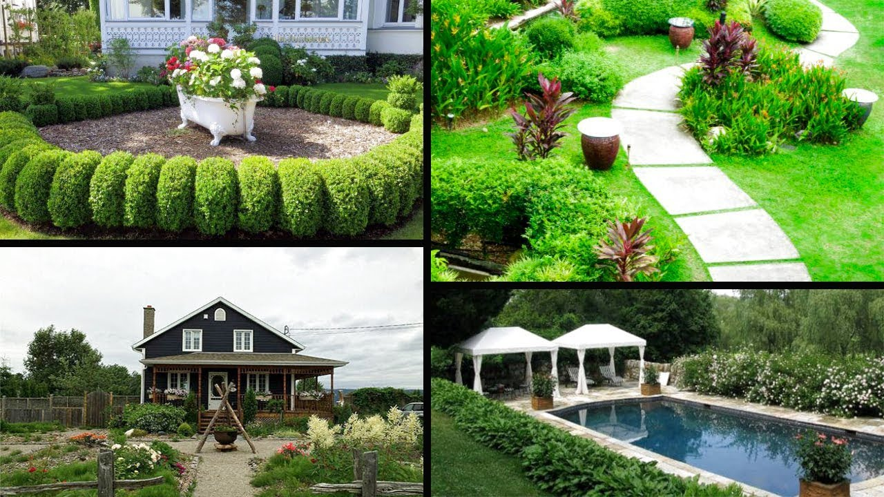 40 Creative House Landscaping Ideas Landscaping Ideas Garden