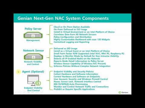 Genian NAC Agent