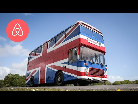 Courtney and KISS in the Morning - The Spice World Bus Is Now An Airbnb