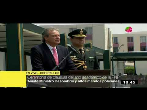 """Ministro Basombrío: """"El país atraviesa un momento difícil, pero saldrá adelante"""""""