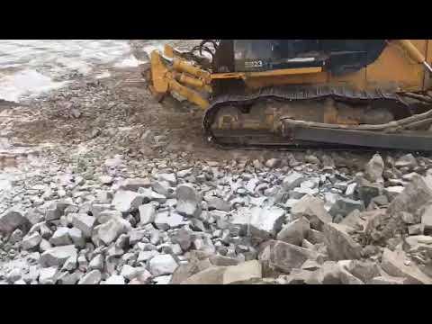 Bulldozer Shantui SD23 Rent. Аренда бульдозера.