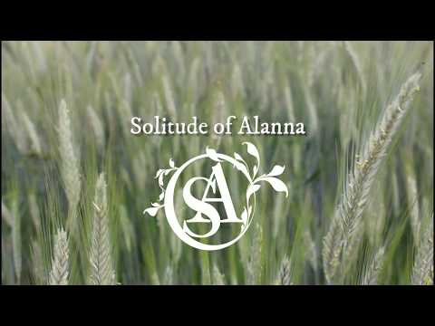 ESP/ ENG LYRIC VIDEO - Until the wheat turns gold - ESPAÑOL / ENGLISH | Solitude of Alanna