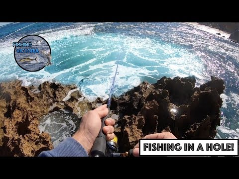 Fishing In A Hole!
