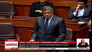 Juan Sheput Intervención En Congreso Y Debate Con Mauricio Mulder