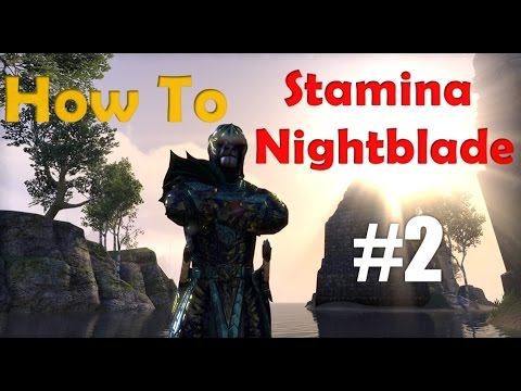 How to Stamina Nightblade - Part 2 Gear
