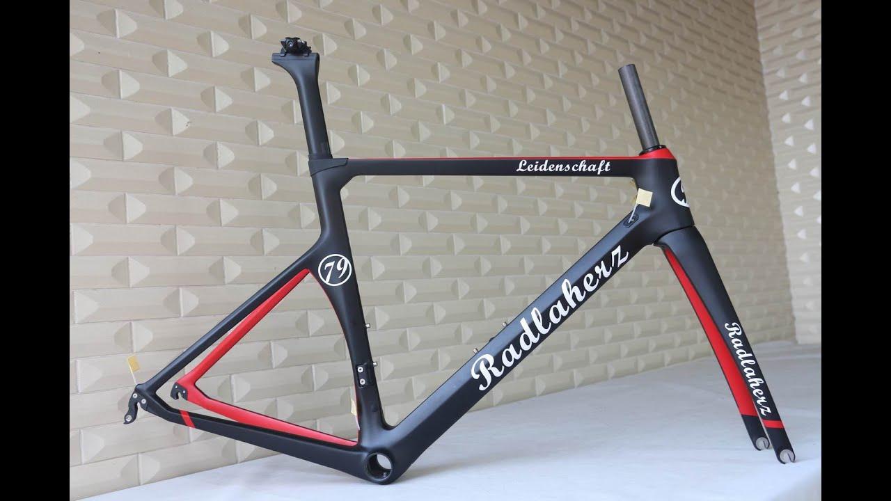 Custom Painting 700c Aero Road Bike Full Carbon Fiber Road
