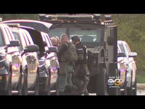 Suspect In Custody Following Police Standoff In New Castle County