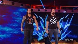 Roman Reigns returns to WWE    The Shield saves Dean Ambrose    Raw, Feb. 25, 2019