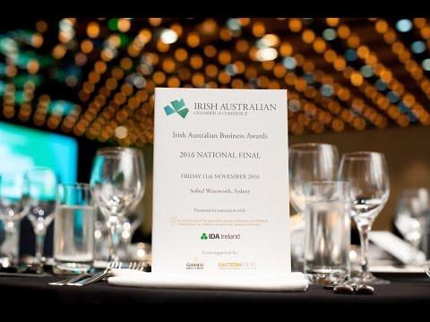 Irish Australian Business Awards 2016