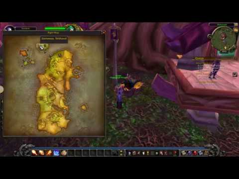 How To Get From Darnassus To Stormwind World Of Warcraft Youtube