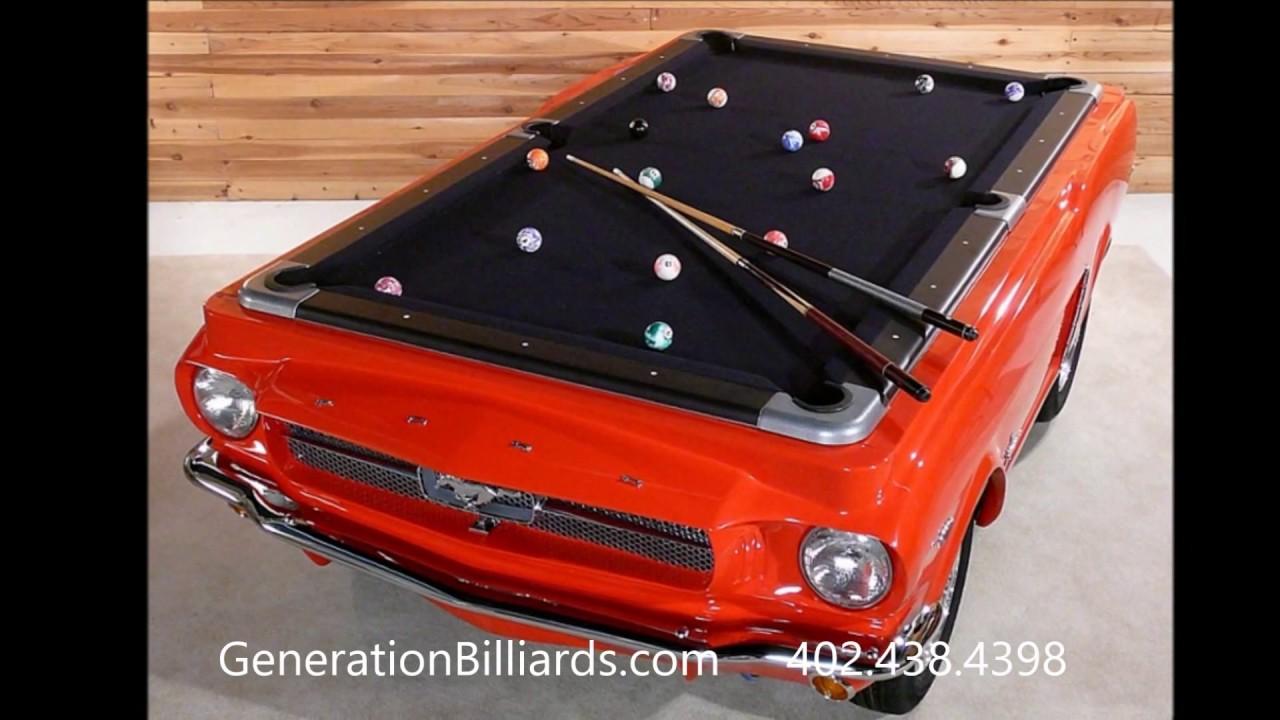 Car Pool Tables YouTube - Car pool table
