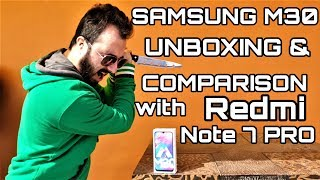 Redmi Note 7 Pro vs Samsung M30|Samsung M30 Review & Unboxing|Samsung M30 Camera Review