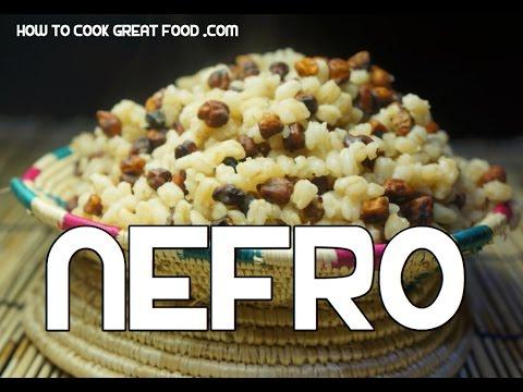 Nefro Ethiopian Wheat & Chickpea Snack Recipe - Amharic Shimbra
