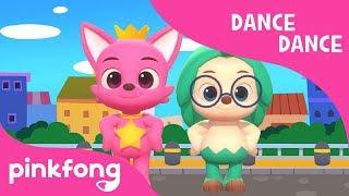 Walking Walking | 3D Nursery Rhymes | Dance Dance | Pinkfong Songs for Children