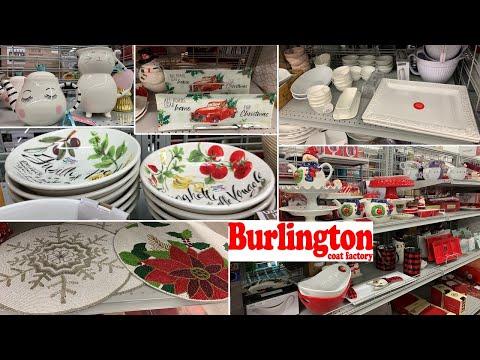 Burlington Kitchen Home Decor * Dinnerware Table Decoration Ideas ~ Shop With Me