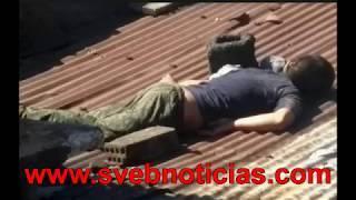 VIDEO Balacera en Rio Blanco dejo dos abatidos y un detenido