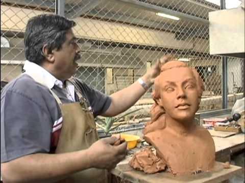 Luz y magia del arte: En el taller de escultura