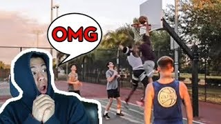This DUDE Should Have Been on the Top 10 Basketball Youtubers List! Reacting to 5v5 Basketball!