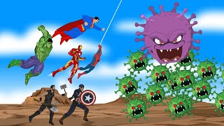 Superheroes VS Coronavirus | SUPER HEROES MOVIE