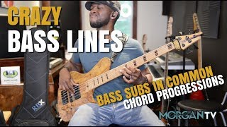 USING DIFFERENT BASS NOTES | BASS SUBS IN COMMON CHORD PROGRESSIONS #GOSPELBASSLESSONS #BASSLESSONS