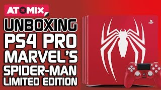 Unboxing – PS4 Pro Marvel's Spider-Man Limited Edition