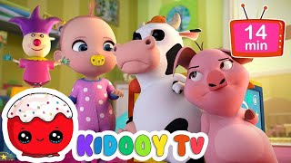 Pop Goes The Weasel & More By KidooyTv Nursery Rhymes for Kids Children