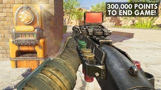 HARD ZOMBIE PIT SURVIVAL CHALLENGE MAP! 300K POINTS = WIN! (Custom Zombies)