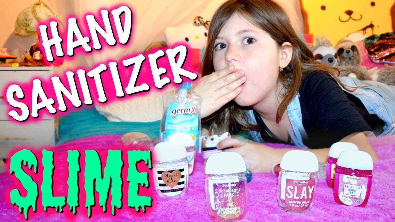 how to make hand sanitizer slime