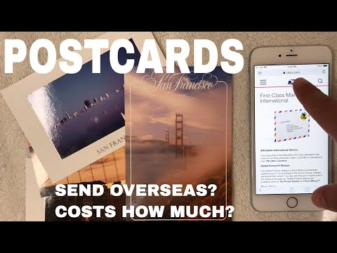 🔴 How Much Is International Postcard Postage?  🔴
