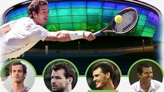 Dimitrov⁄Henman vs. Murray⁄Murray 5-4 Glasgow Exhibition Andy Murray Live 21.09.2016.