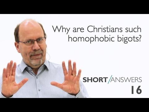 Why are Christians such homophobic bigots?  |  David Robertson