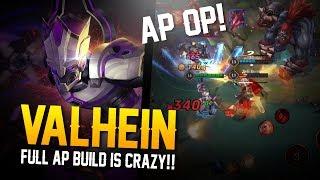 Arena of Valor Gameplay - AP BUILD IS OP!! Valhein Gameplay
