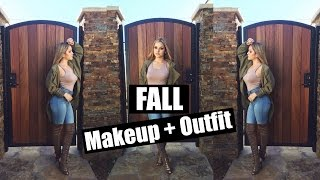 Fall Makeup + Outfit (Daytime) | Aidette Cancino
