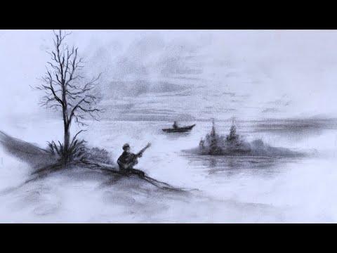 Comment dessiner un paysage au fusain technique rapide youtube - Dessiner un paysage ...