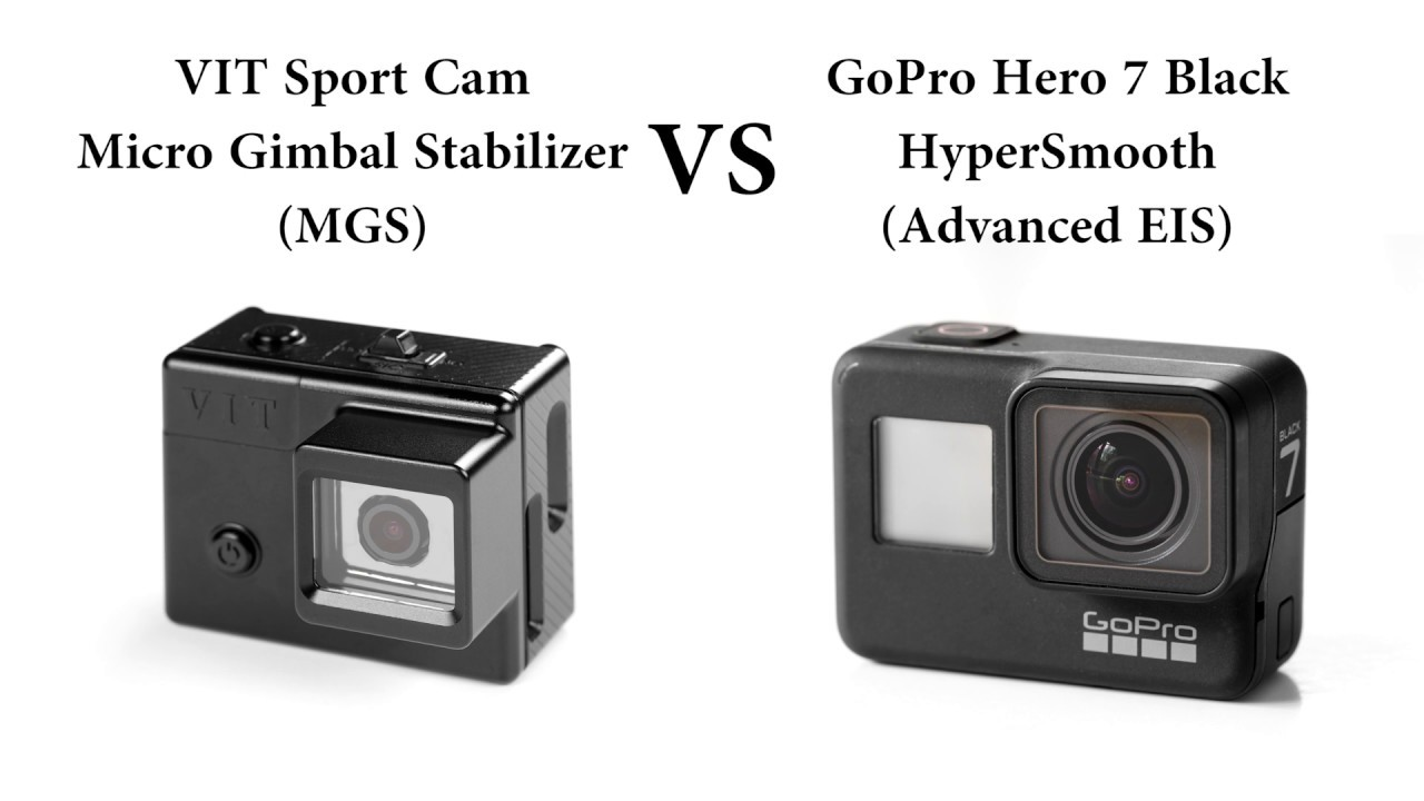 VIT's MGS VS GoPro's HyperSmooth when Cycling