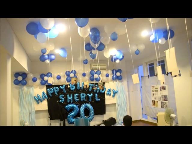Surprise Birthday Party Sheryl Sheinafia #CIESHERYL20TH