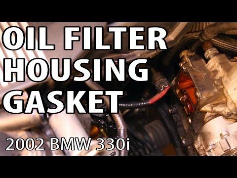 bmw 328i oil filter housing gasket diy e90 n52 funnydog tv. Black Bedroom Furniture Sets. Home Design Ideas