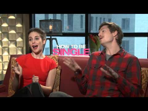 UNCENSORED: Alison Brie & Anders Holm Talk Dating Tips, Valentine's Day & HOW TO BE SINGLE