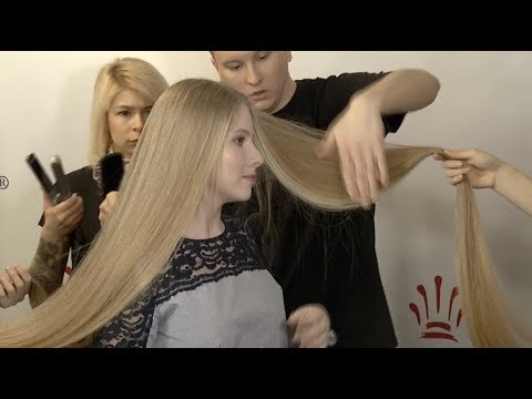 Ukrainian 18-year-old Girl Sets National Record With 2.35-meter Long Hair