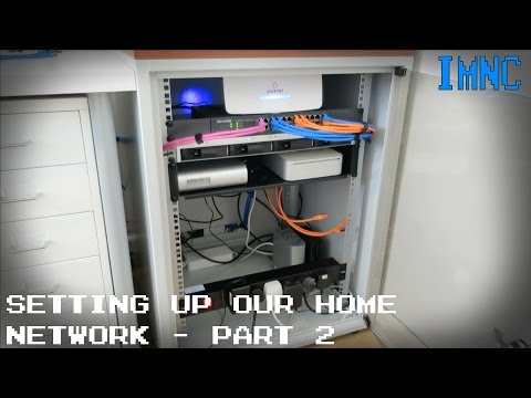 Setting Up Our Home Network (Part 2) - The Rack | IMNC