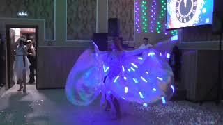 Танцует Юлия Рувайдо Встреча Нового года в кафе Ветерок  Dancing Julia Ruvido
