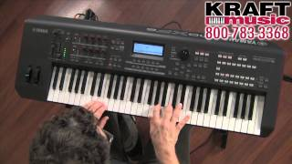 Kraft Music - Yamaha MOXF6 Workstation Keyboard with Blake Angelos MOXF8 MOXF