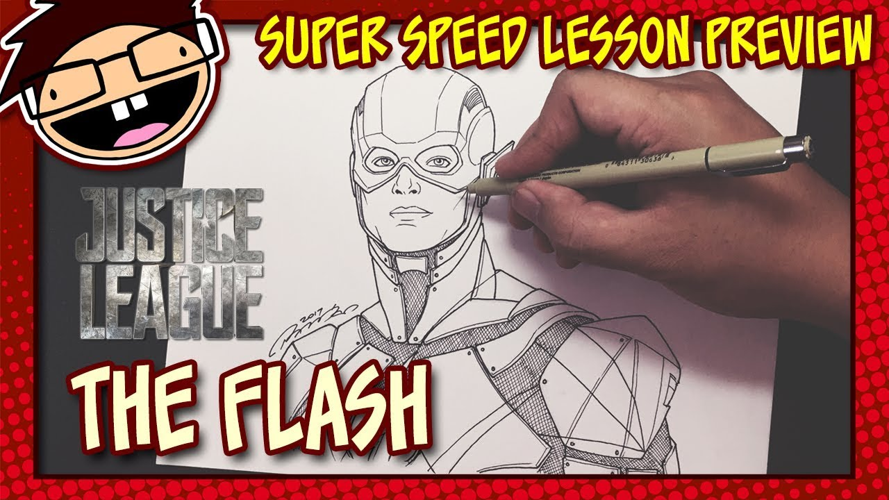 Lesson Preview How To Draw The Flash Justice League Super Speed Time Lapse Art Youtube Приходите к нам на aliexpress, у нас вы найдете все! lesson preview how to draw the flash justice league super speed time lapse art