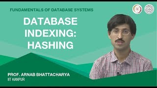 Lecture 18 - Database Indexing: Hashing