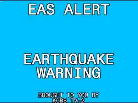 Earthquake Warning: California