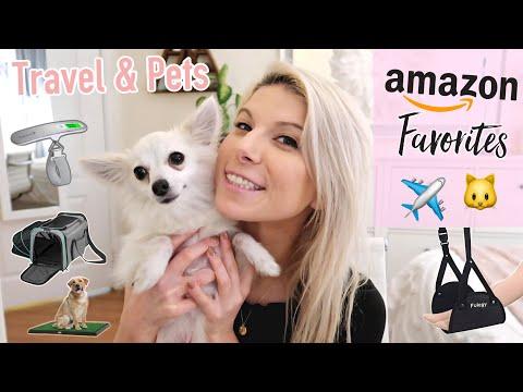 ☆ AMAZON FAVORITES | Travel Essentials & Pet Favorites + GIVEAWAY! ☆