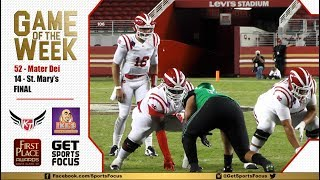 Game of the Week | #1 Mater Dei vs St. Mary's (Stockton)