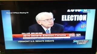 VT Senate Debate Question